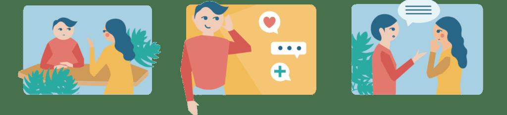 L'écoute et le conseil aux particuliers